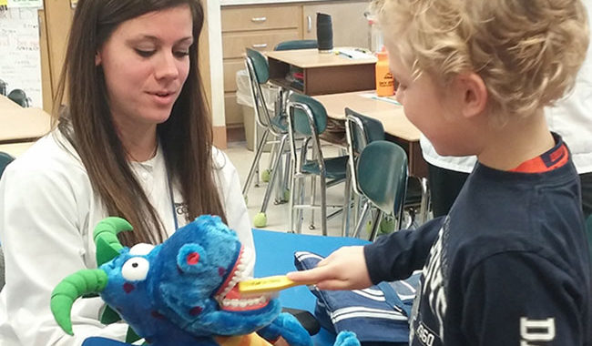 2nd Graders Learn About Dental Health