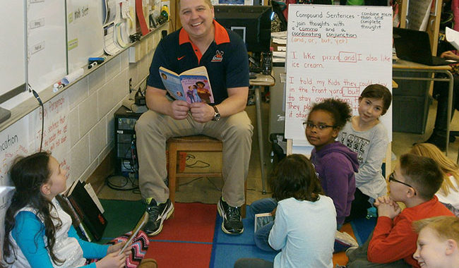 Teachers Kick-Off PARP Month by Reading to Classes