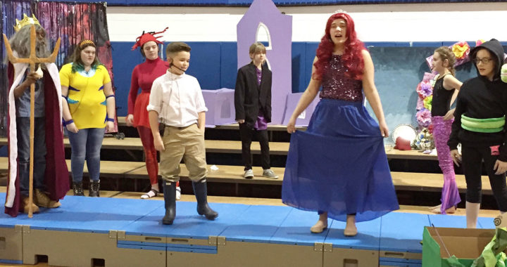 Students perform musical