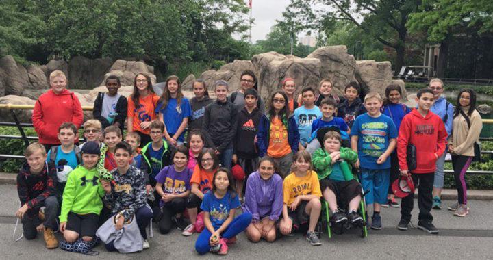 Students at Bronx Zoo