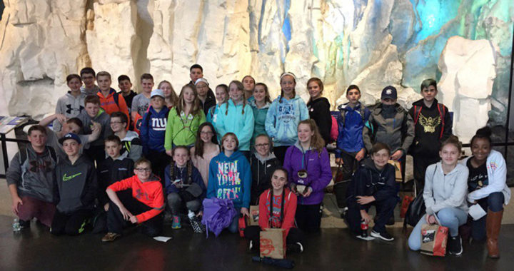 7th graders at Wild Center in Tupper Lake