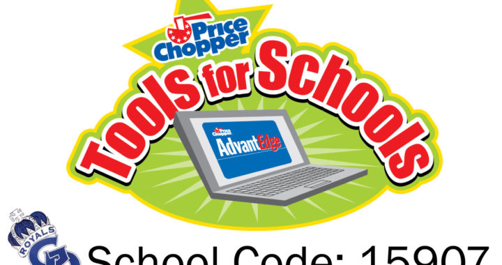 Price Chopper Tools for Schools - School Code 15907