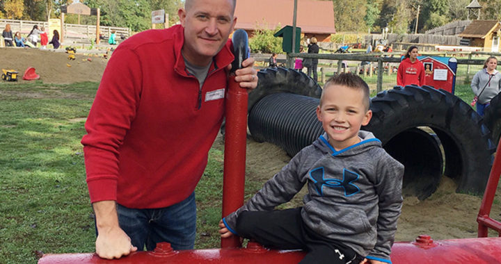 Kindergartners visit farm