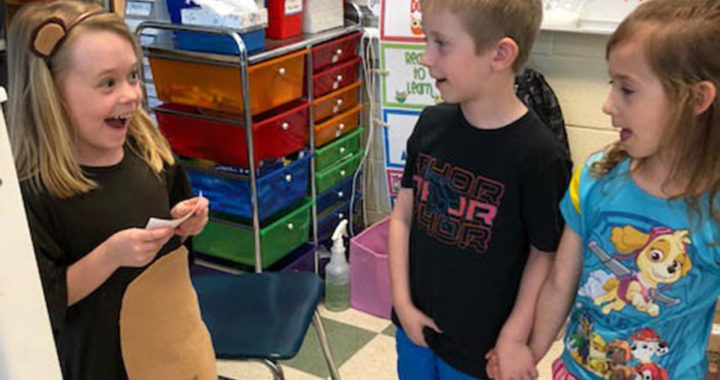 Student shares animal research