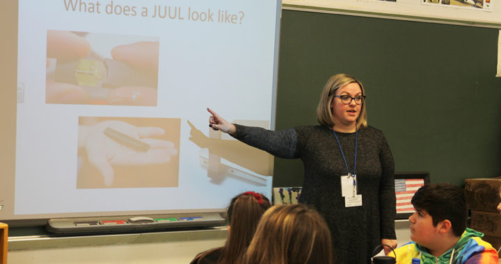 Students learn about dangers of vaping