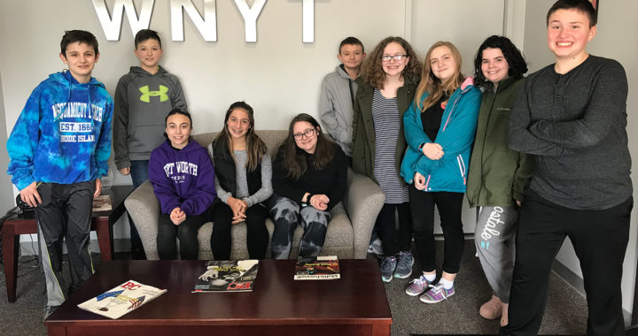 Students tour WNYT studio