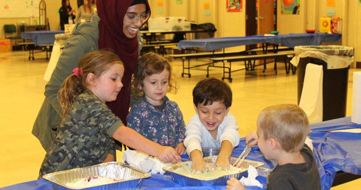 Students enjoy STEM activity