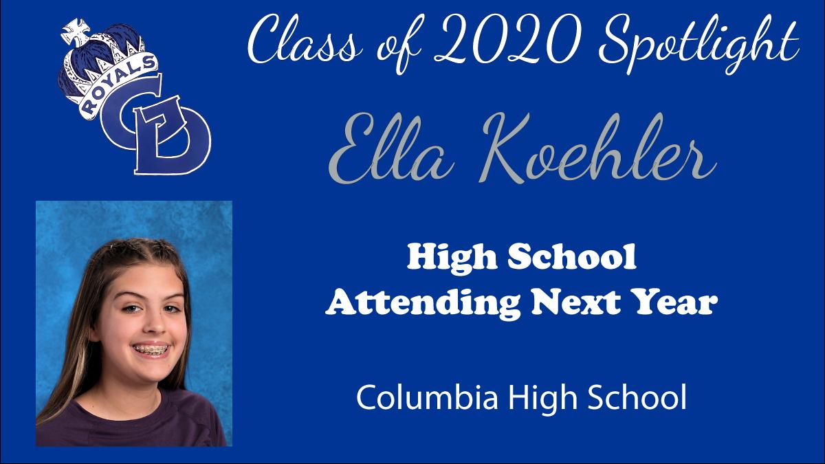 Class of 2020 Spotlight